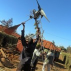 From Scrap Heap to Wind Turbine