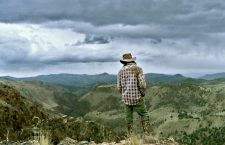 Image by Stephen Brooks. Increasing periods of drought in the American West have raised concern among those dependent on the land. Nathan, a young rancher in Eastern Oregon, awaits the building clouds with hope that they may bring a much-needed spring rain for the parched soils.
