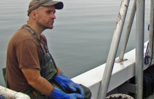 Oyster farming is just the latest unlikely plot twist in Brendan Smith's life.