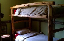 After weeks on the trail, a bed at Bearded Woods must seem downright luxurious.