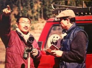 Benji and Bruce Bunting, president of the Bhutan Foundation. Photo courtesy of Dasho Benji.