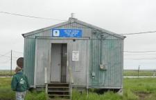 The Newtok post office. Photo by Jon Meyer.