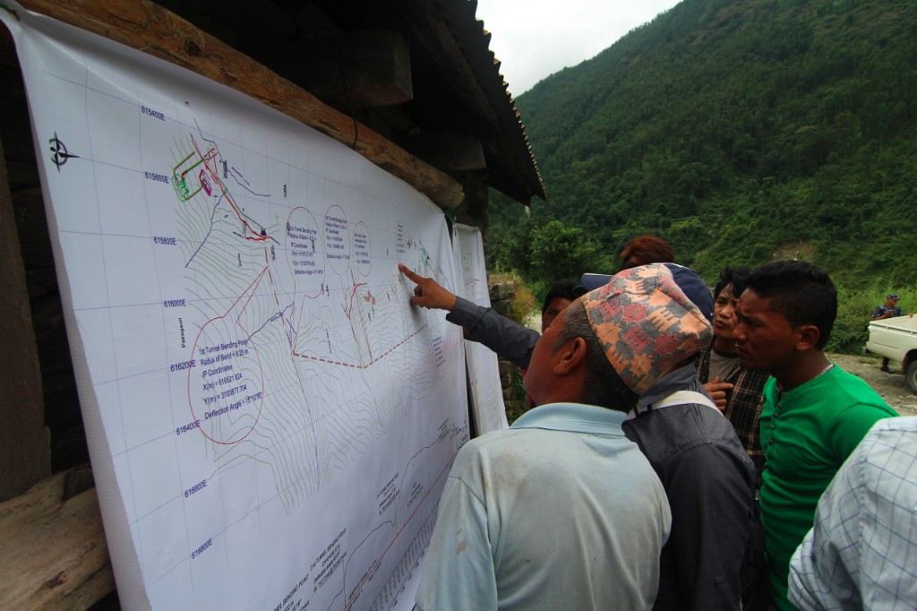 Public Hearing for the 37 MW Trishuli 3B Hydropower Project (37 MW) – Pahirebesi, Nuwakot District.
