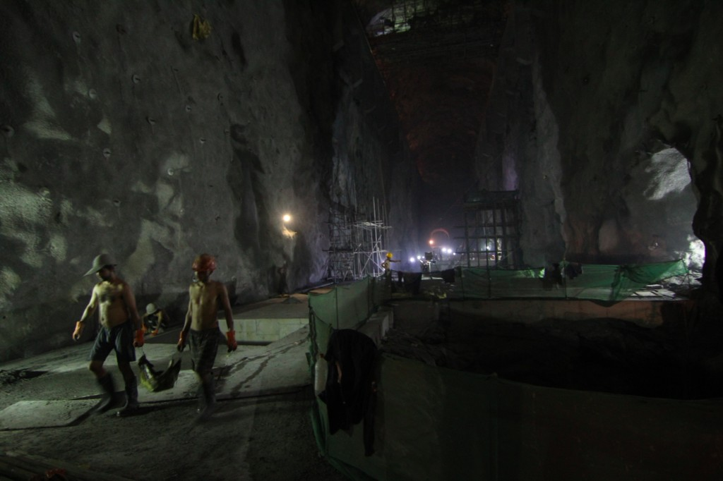 Powerhouse Cavern for the Upper Tamakoshi Hydropower Project (456 MW) – Gonggar, Dolakha District