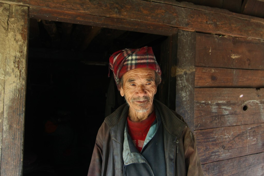 Tamang Man Living near the Headworks Site of the Pending Upper Trishuli 1 Hydropower Project (216 MW) – Haku Besi, Rasuwa District